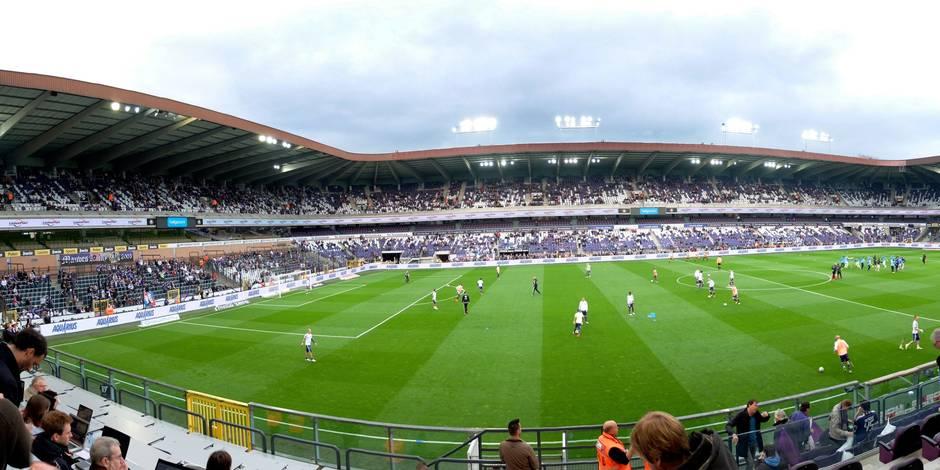 Anderlecht: la rénovation du stade jugée trop chère