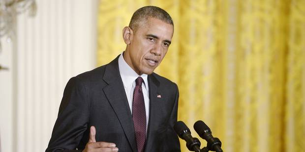 """La Russie ne va pas imposer la paix en Syrie """"à coup de bombes"""": Obama durcit (encore) le ton envers Moscou - La Libre"""