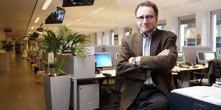 Christian Dauriac , nouveau chef de redaction du JT de la RTBF
