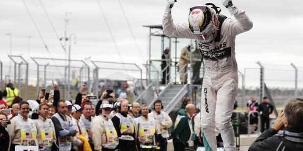 Hamilton sacré champion du monde pour la 3e fois! - La Libre