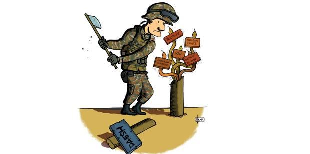 Cette drôle de guerre contre Daech - La Libre