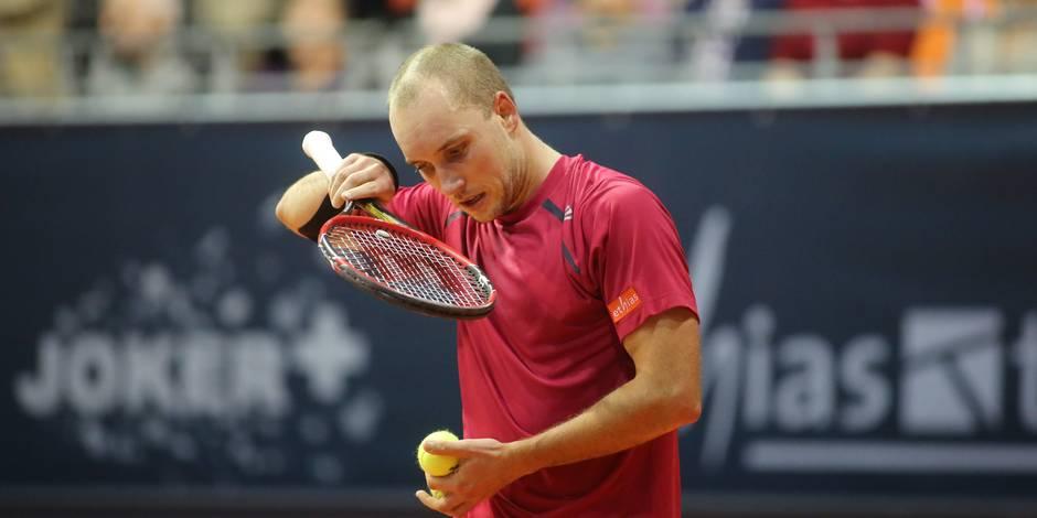 Steve Darcis fait l'impasse sur Paris-Bercy, la finale de la Coupe Davis en danger?