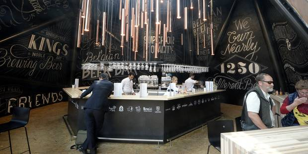 A Milan, le pavillon belge a fait le plein - La Libre