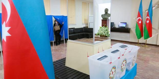 Le parti au pouvoir remporte une large victoire aux législatives en Azerbaïdjan - La Libre