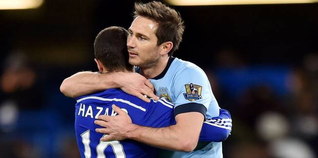 """Frank Lampard: """"Eden Hazard a besoin d'aide"""" - La Libre"""