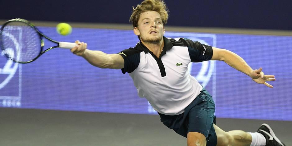 ATP Paris: David Goffin contre Andy Murray en 8e de finale