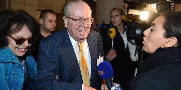Fraude fiscale: Jean-Marie Le Pen visé par une plainte depuis fin septembre - La Libre