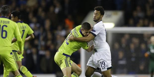 Anderlecht s'incline sur le fil face à Tottenham (2-1) - La Libre