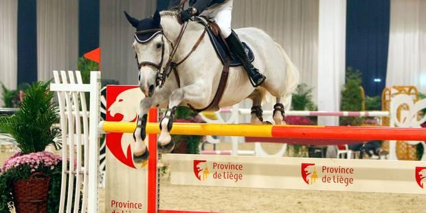 Équitation: les stars entrent en piste à Liège - La Libre