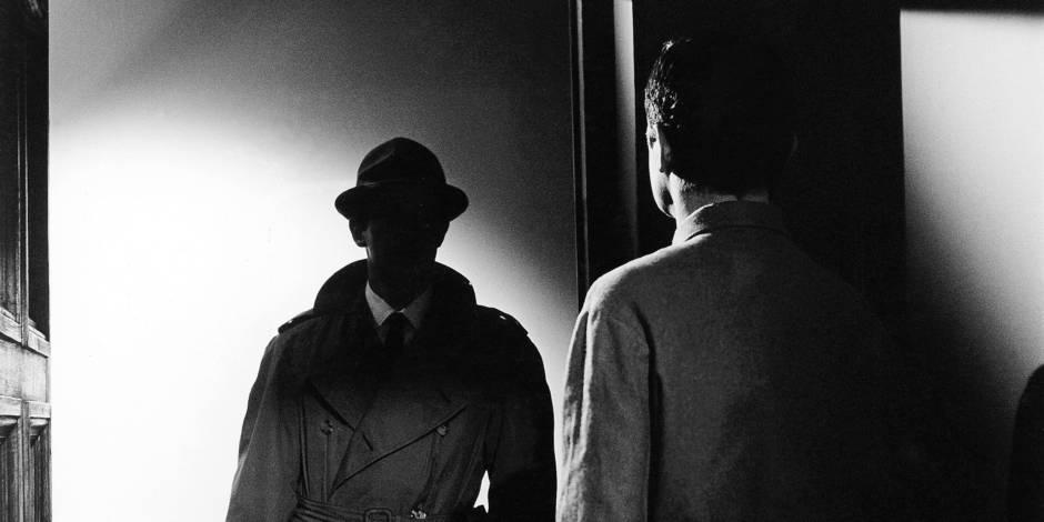 Le Doulos de Jean Pierre Melville avec Jean Paul Belmondo, 1962 Reporters / Rue des Archives