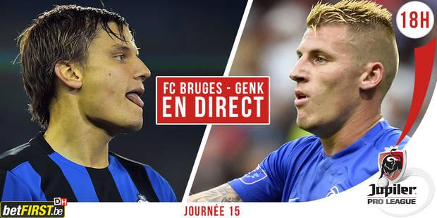 Bruges s'impose pour la septième fois d'affilée à domicile (1-0) - La Libre