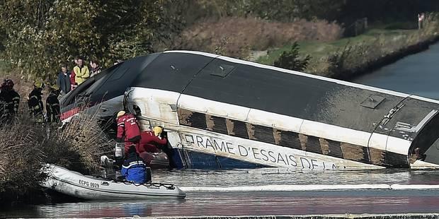 Accident de TGV en France: voici les causes du drame - La Libre