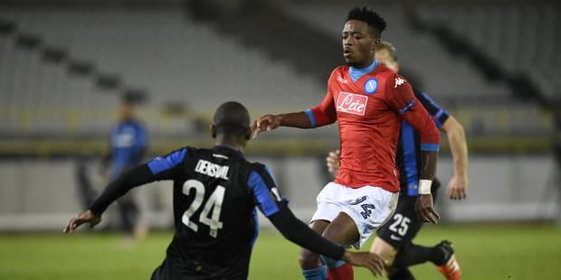 Bruges s'incline face à Naples et devra batailler pour se qualifier (0-1) - La Libre