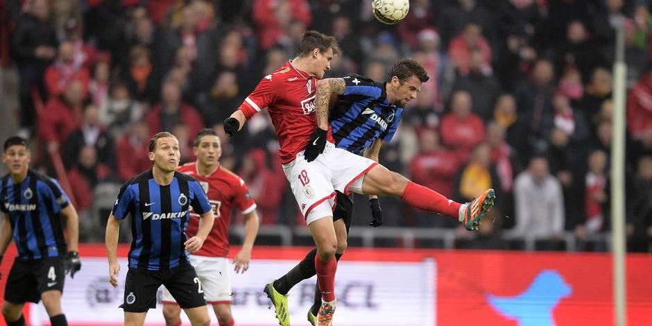 Le Standard assomme Bruges et entrevoit les PO1 (2-0)