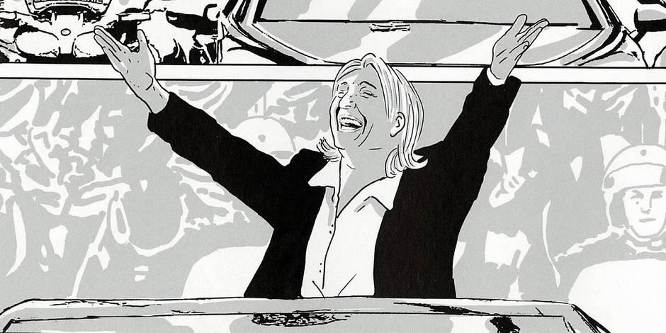 Mme Le Pen s'installe à l'Élysée