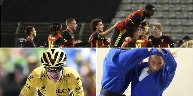 Top 10 des personnalités qui feront le sport en 2016 - La Libre