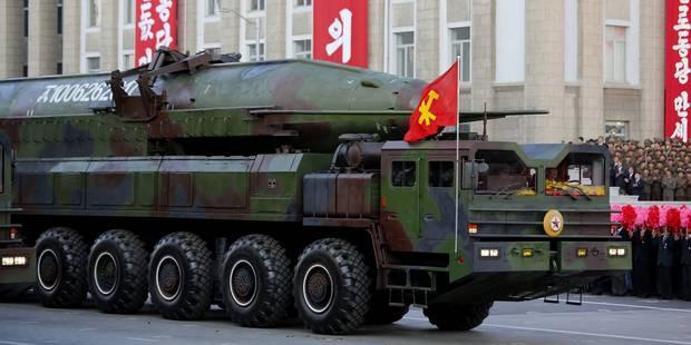 Washington met en doute les affirmations de Pyonyang sur un essai de bombe H - La Libre