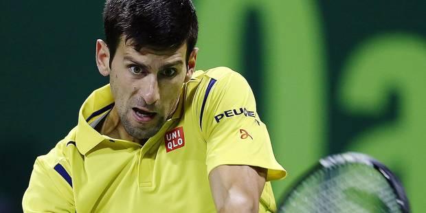 Le trio manquant de Novak Djokovic - La Libre