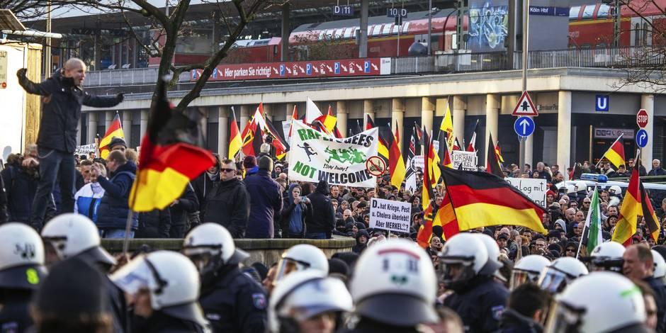 Allemagne: des Syriens et des Pakistanais agressés à Cologne