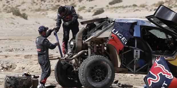Dakar 2016: accident de Loeb qui fait plusieurs tonneaux - La Libre