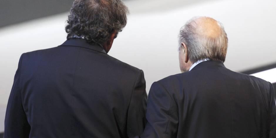 Une suspension plus lourde pour Platini et Blatter?