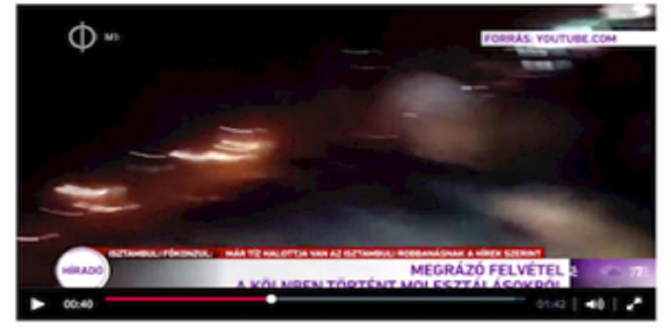 Agressions sexuelles à Cologne: la bourde d'une TV hongroise