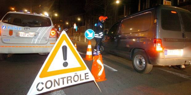 Week-end sans alcool au volant: contrôles intensifs sur tout le territoire - La Libre