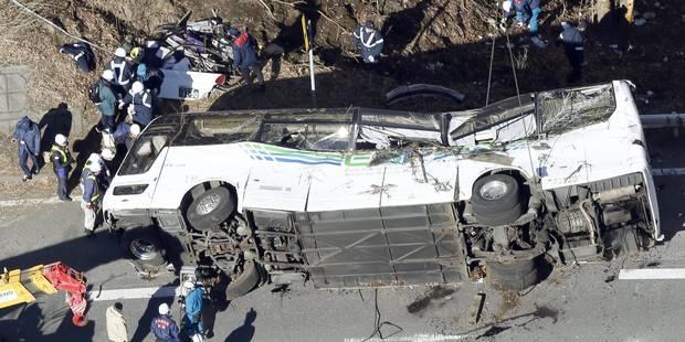 Japon: 14 morts dans un accident de car - La Libre