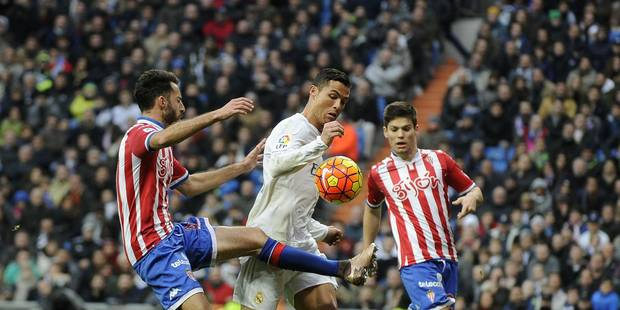 Le vilain geste de Cristiano Ronaldo (VIDEO) - La Libre