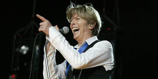 David Bowie en tête du palmarès américain des albums, une première - La Libre