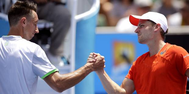 Open d'Australie: David Goffin file au deuxième tour, Wickmayer éliminée d'entrée - La Libre