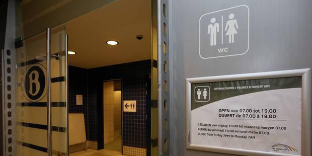 La grande misère des WC de gares - La Libre