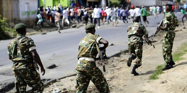 Qui sont les membres des mouvements armés rebelles au Burundi ? - La Libre