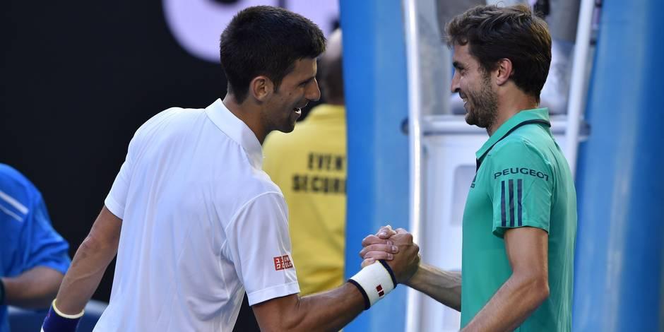 Open d'Australie: Djokovic en cinq sets en quarts de finale