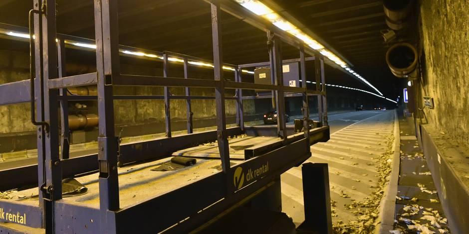 """Tunnels bruxellois : """"Un défaut de prévoyance grave"""", selon Beci"""