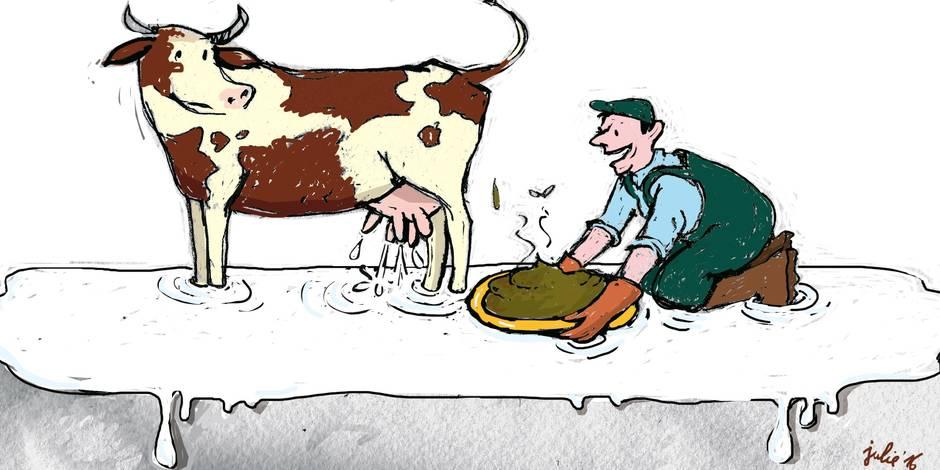 La mort programmée des petits producteurs laitiers