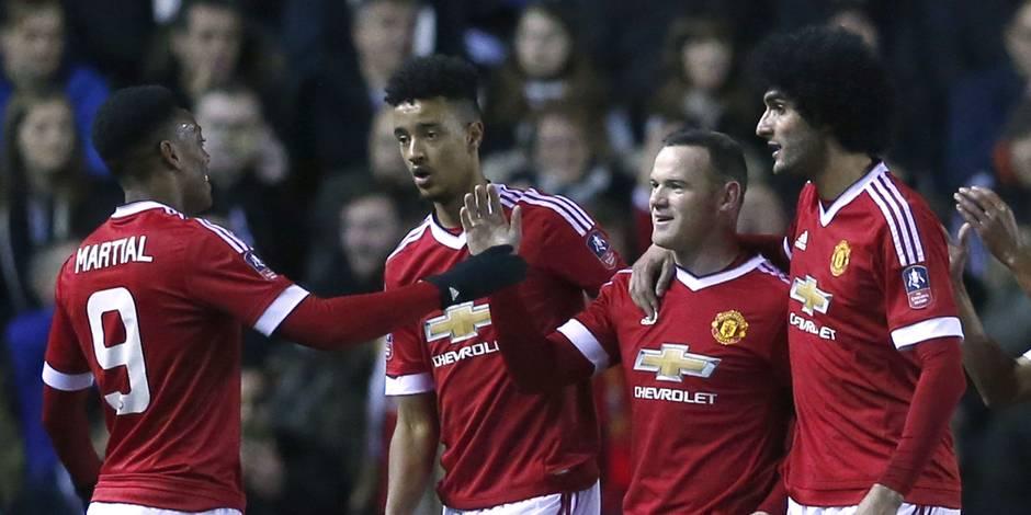 Les Belges à l'étranger: Fellaini qualifié en Cup, Batshuayi muet, Thorgan Hazard joue