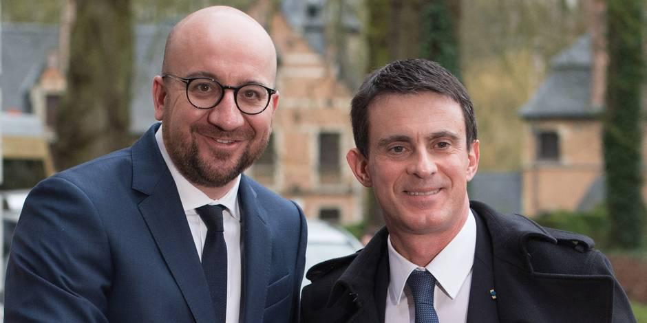 """Valls: """"Je n'ai jamais douté de la détermination du gouvernement belge"""""""