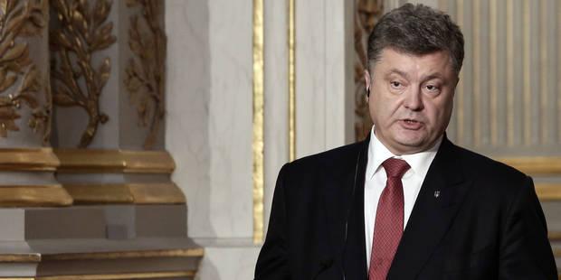 Ukraine: Porochenko convoque les ambassadeurs du G7 - La Libre