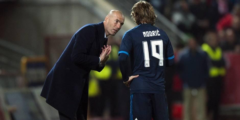 Quand Modric lâche une fusée, Zidane explose (VIDEOS)