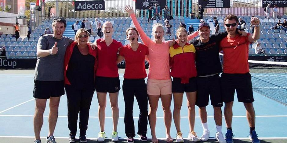 Fed Cup: Les bulletins de l'équipe belge - La Libre
