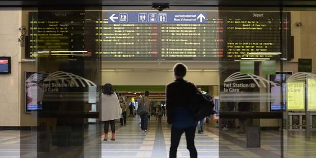 Bruxelles: coups de machette dans la Gare du Nord - La Libre