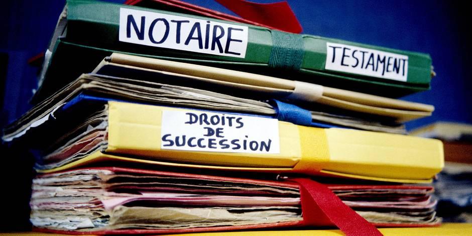 Succession: la nouvelle concurrence des notaires - La Libre
