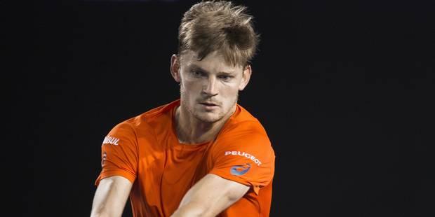 ATP Rotterdam: David Goffin éliminé par Baghdatis dès le 1er tour - La Libre