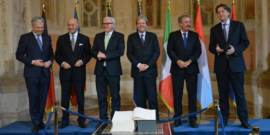 Les fondateurs de l'UE prêts à admettre une intégration à des vitesses différentes
