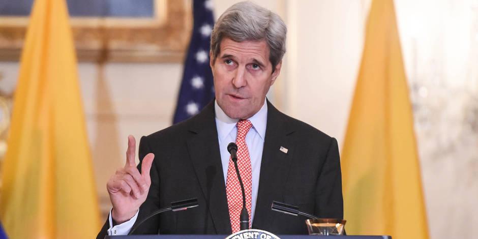 Conflit en Syrie: Kerry réclame à la Russie un cessez-le-feu