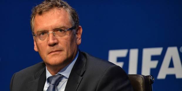 Jérôme Valcke, ex N.2 de la Fifa, suspendu 12 ans - La Libre