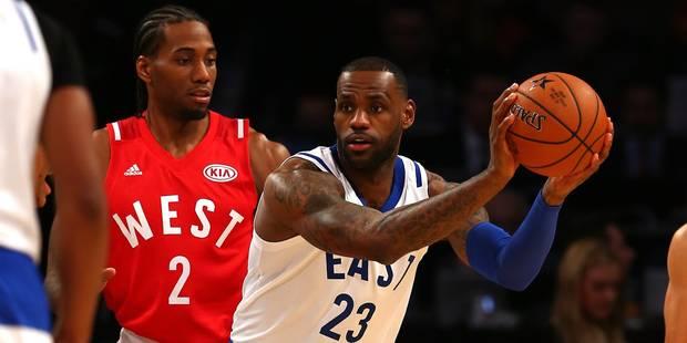 NBA: la Conférence Ouest s'impose dans le All Star Game (Vidéo) - La Libre
