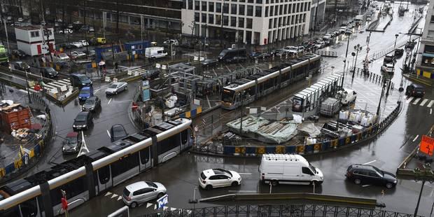 Toujours plus d'automobilistes bruxellois (INFOGRAPHIE) - La Libre