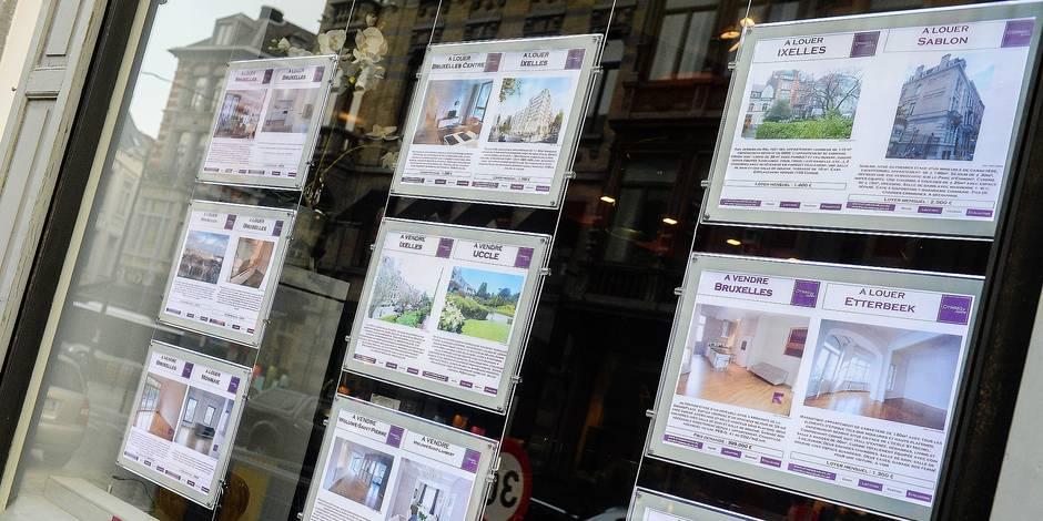 Agence Immobiliere Rue des minimes Bruxelles